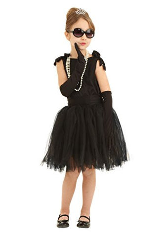 Fun Costumes girls Child Breakfast at Tiffany's Holly Golightly Costume X-Small