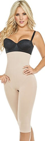 ShapEager Body Shapers Shapewear and Fajas Seamless Shaper Butt-Lift High Panty Capri - Body shapers Shapewear and Fajas