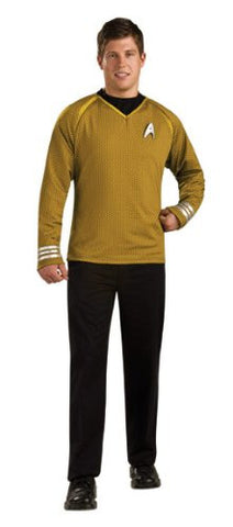 Star Trek Movie Grand Heritage Gold Shirt, Adult Large Costume
