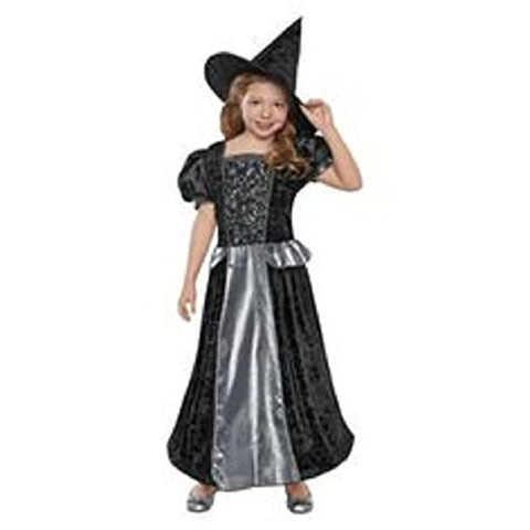 Silver Witch Child Costume Large 10-12