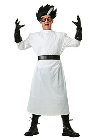 Fun Costumes mens Adult Deluxe Mad Scientist Costume Large