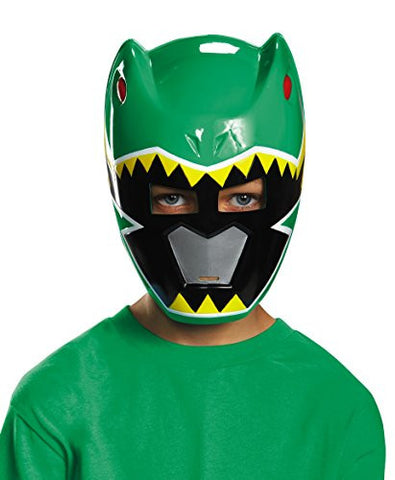 Disguise Green Ranger Dino Charge Vacuform Mask Costume