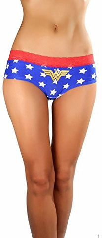 Wonder Woman Women's Hipster Panties - Set of 3, X-Large