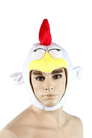 Chicken HAT MGS Metal Gear Solid 5 V the Phantom Pain Plushie Headwear Cap