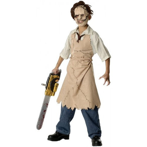 Texas Chainsaw Massacre Child's Leatherface Costume, Large