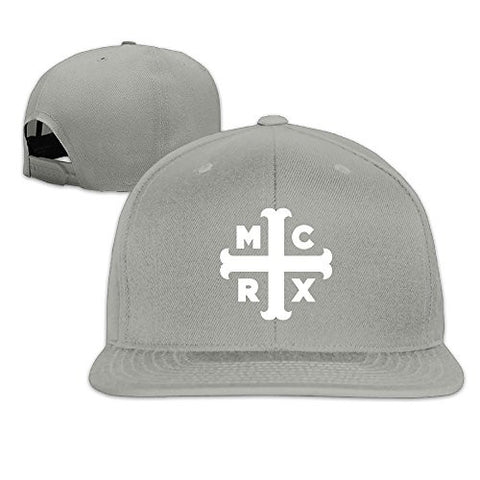 Unisex My Chemical Romance Logo The Black Parade Flat Bill Hat Baseball Cap