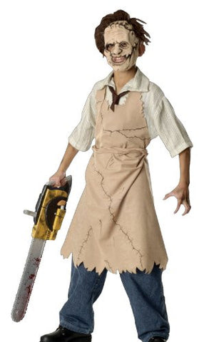 The Texas Chainsaw Massacre 3D Child's Leatherface Costume, Large