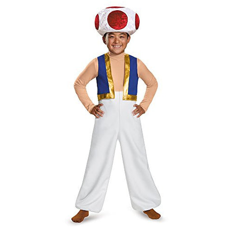 Disguise Toad Deluxe Costume, Large (10-12)