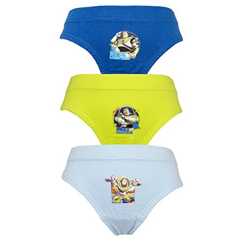 Toy Story 'Buzz Lightyear' 3 pack Boys Briefs Pants - 4-5 Years / 110 cm
