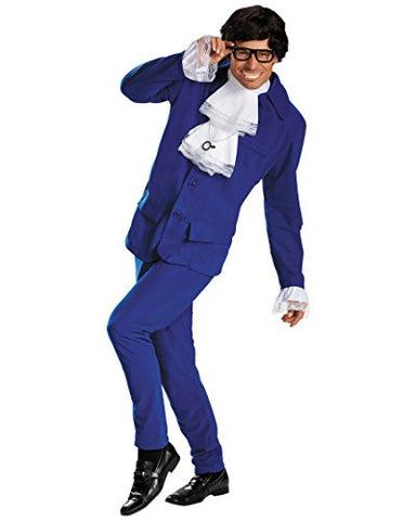 Austin Powers Deluxe Costume, Xl
