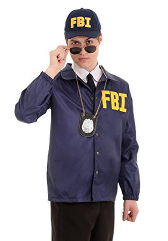 Adult FBI Costume X-Large