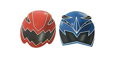 Power Rangers Space Patrol Masks - 8 Count