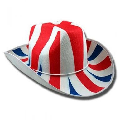 Union Jack Cowboy Hat by England Rugby