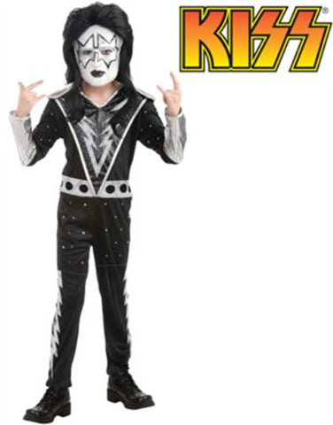 KISS Band - Spaceman Child Costume Size 4-6 Small