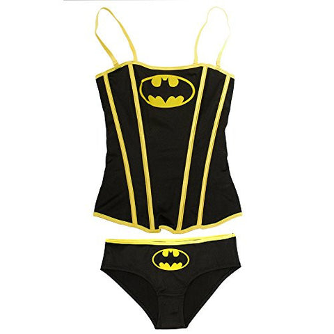 DC Comics Batman Women's Batgirl Corset with Panty Set (XL)