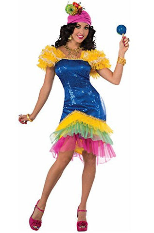 Forum Novelties Women's Cha-Cha Costume, Multi, Standard