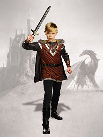 Mischief & Mayhem Boys Warrior Knight Costume, One Color, Large, One Color, Large