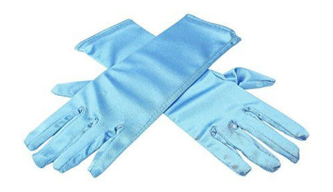 HXL Elsa Inspired Girls Ice Princess Blue Gloves Costume Age3-7 Accessories Gift