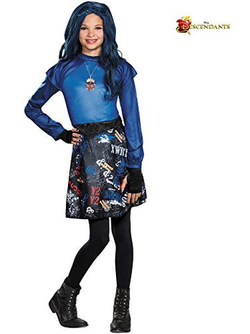 Disguise 88108K Evie Isle Of The Lost Classic Costume, Medium (7-8)