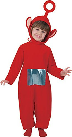 Child's Red Teletubbies PO Costume (Size:Toddler 1-2) by Disguise Costumes