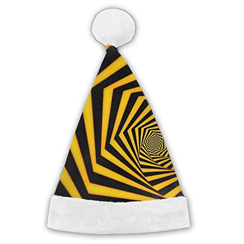 Sagittarius Yellow And Black Fashionable Christmas Hat Baggy For Baby