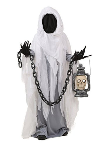Fun Costumes boys Child Spooky Ghost Costume X-Large