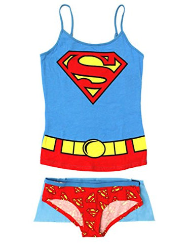 Supergirl Cami and Hipster Set Medium