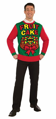 F72123 (L) Fruit Cake Ugly Christmas Sweater