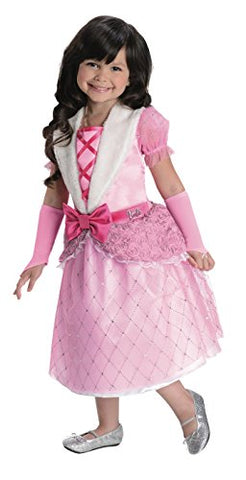 Rubies Barbie Rosebud Princess Costume, Child Toddler