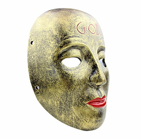 Gmasking 2017 The Purge Anarchy James Sandin God Mask Replica+Gmask Keychain B