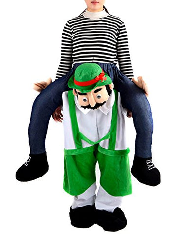 Gameyly Unisex Adult Shoulder Carry Me Ride Funny Pants Novelty Costume One Size Mascot A
