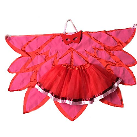 Deluxe Owlette Super Girl Inspired Costume Set