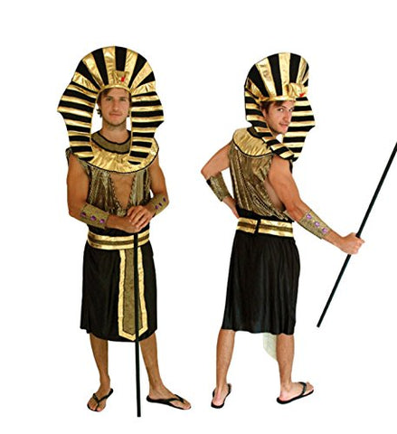 micrkrowen Halloween party cosplay adult Egypt And Pharaoh prince Props