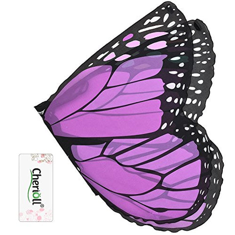 Children's Butterfly Wings ,Halloween gift (purple)