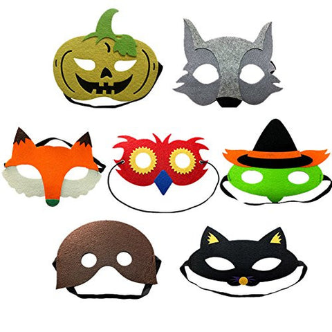 GogoForward Halloween Christmas Party Evening Masquerade Mask Animation Pattern