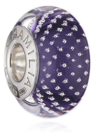 Authentic Chamilia Cabaret Collection Mystic - Purple Bead Sterling Silver 2116-0082