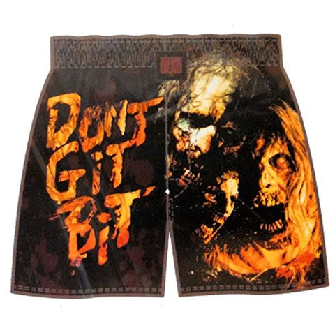 "The Walking Dead Mens Boxer Shorts Don't Get Bit (Small 28-30"")"
