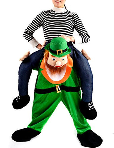 Gameyly Unisex Adult Shoulder Carry Me Ride Funny Pants Novelty Costume One Size Leprechaun