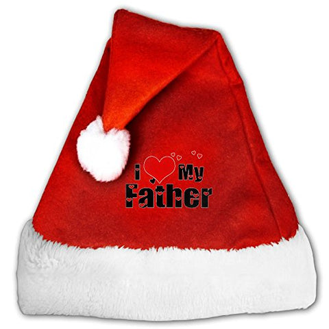 Sep I Love Dad Creative Christmas Hat Durable For Unisex-children