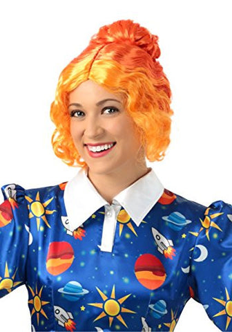 Fun Costumes womens Magic School Bus Ms Frizzle Wig Standard