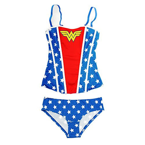 DC Comics Wonder Woman Women's Corset with Panty Set (M)