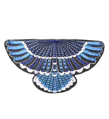 Magic Cabin Fanciful Feathered Friend Bird Wings, Blue Jay