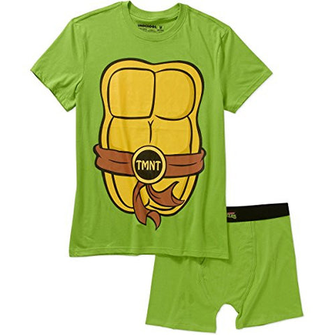 Teenage Mutant Ninja Turtles Men's Underoos Underwear Set Medium