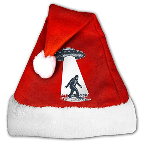 UFO Bigfoot Non-woven Pleuche Classic Christmas Costume Hat Party Accessory For Childrens And Adults