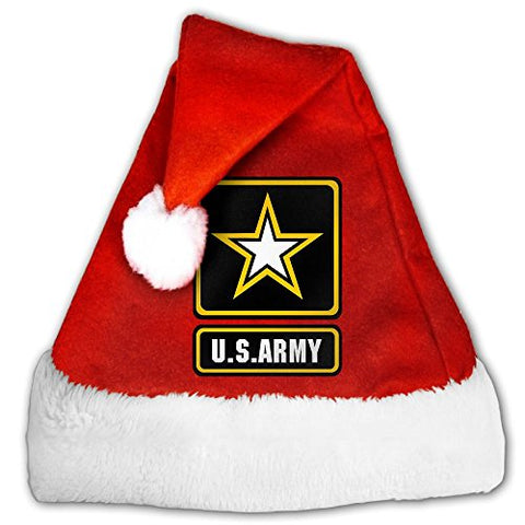 US Army Badge Non-woven Pleuche Classic Christmas Costume Hat Party Accessory For Childrens And Adults