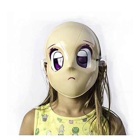 The Mask Biz Cute Little Baby Face Head Funny Mask PVC Bee