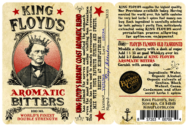 King Floyd's Bitters ~ Aromatic