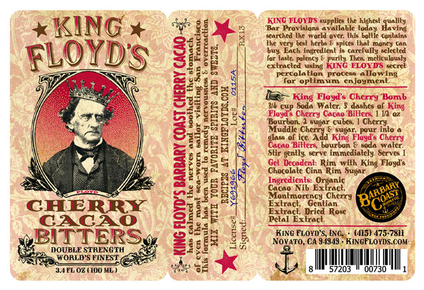 King Floyd's® Bitters ~ Cherry Cacao