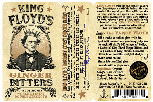 King Floyd's® Bitters ~ Ginger
