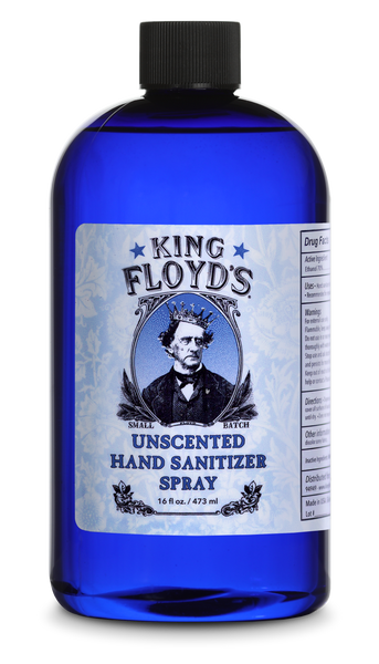 King Floyd's Unscented Hand Sanitizers